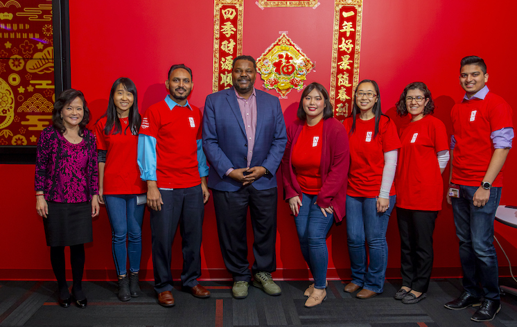 Group of employees from The Asian American Development Center