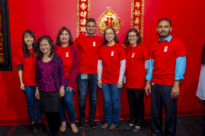 Group of people from Asian American Group