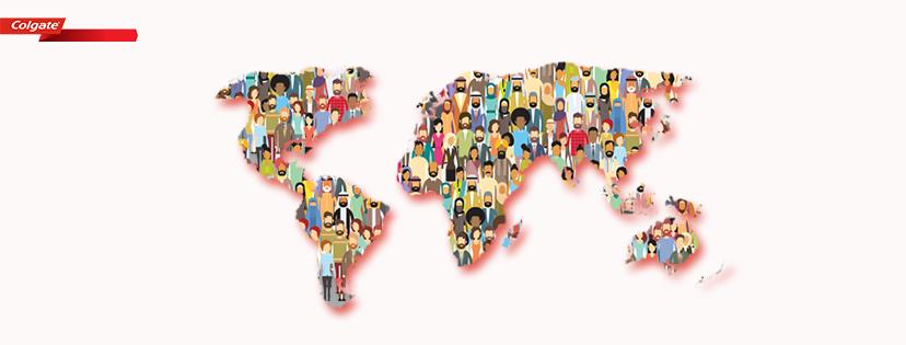 Colgate Supplier world map
