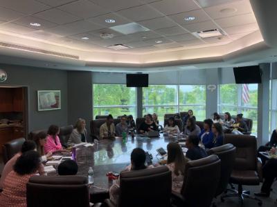 Board meeting - Colgate Women's Network