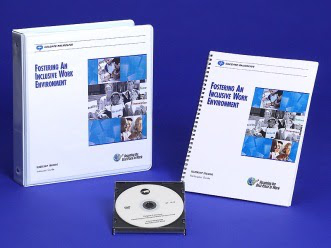 Lever Arch File, spined folder, CD for Fostering an Inclusive Work Environment