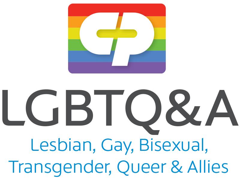 Colgate Lesbian, Gay, Bisexual, Transgender & Allies Network logo